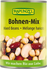 Bohnen-Mix in der Dose 400 g BIO
