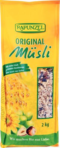 Original RAPUNZEL BIO Müsli 25 kg