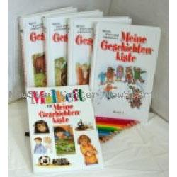 Meine Geschichtenkiste 4 Bände + Malbuch