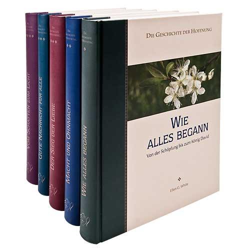 Geschichte der Hoffnung Set (5 Bände) Premiumausgabe
