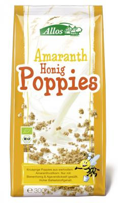 Amaranth-Honig-Poppies BIO 300 g ALLOS