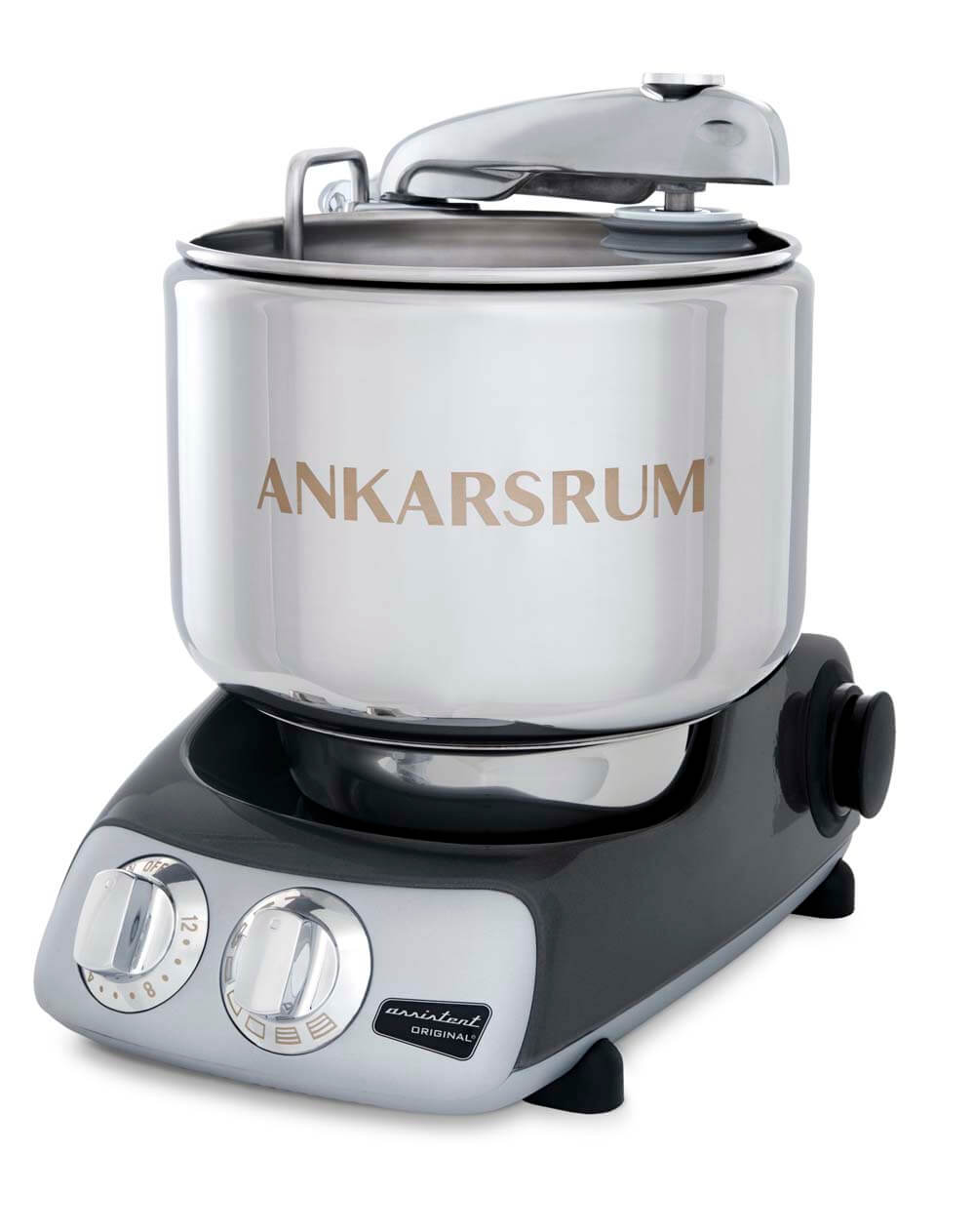 Ankarsrum Assistent Basis Black Chrom