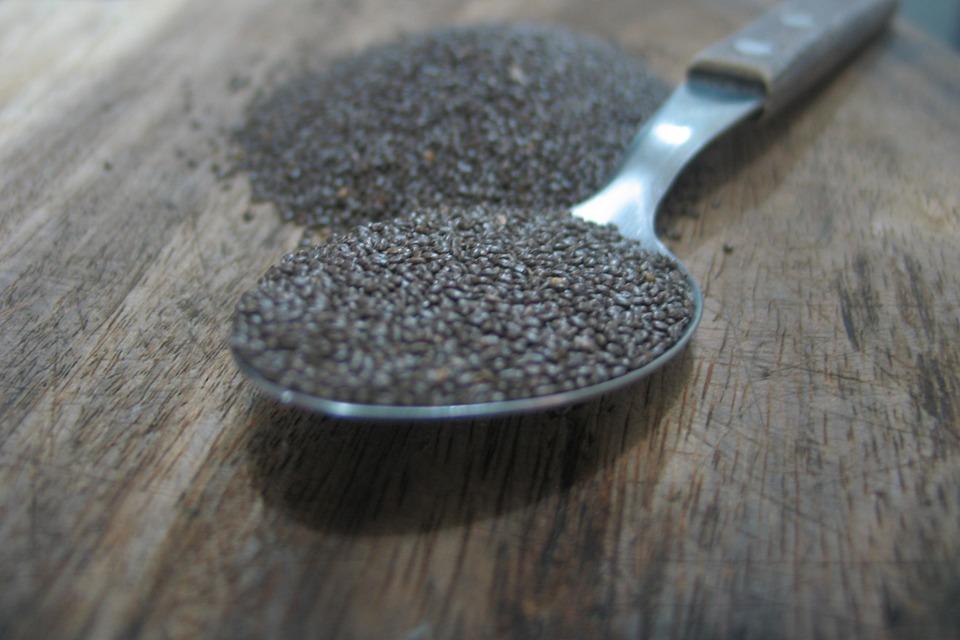 Chia Samen schwarz BIO 5 kg