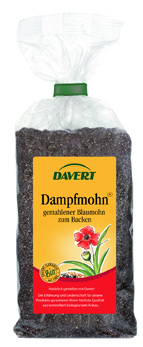 Dampfmohn, BIO gemahlener Blaumohn 200 g DAVERT