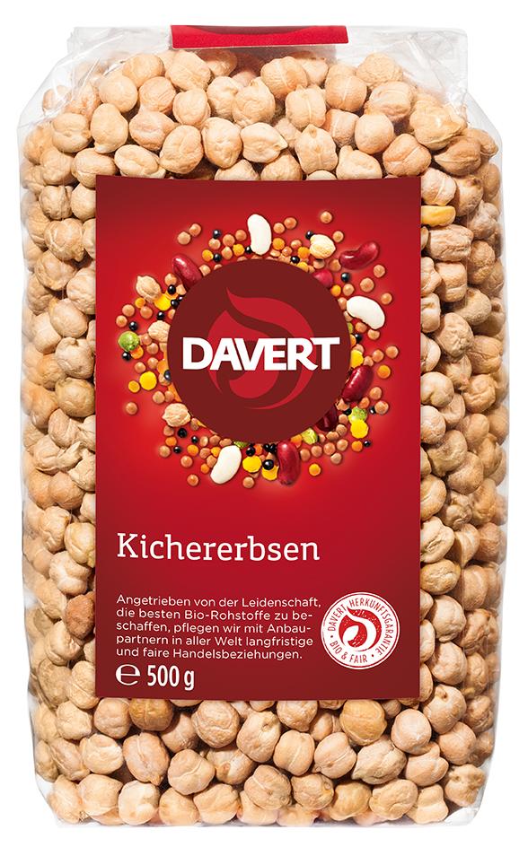 Kichererbsen 500 g von DAVERT