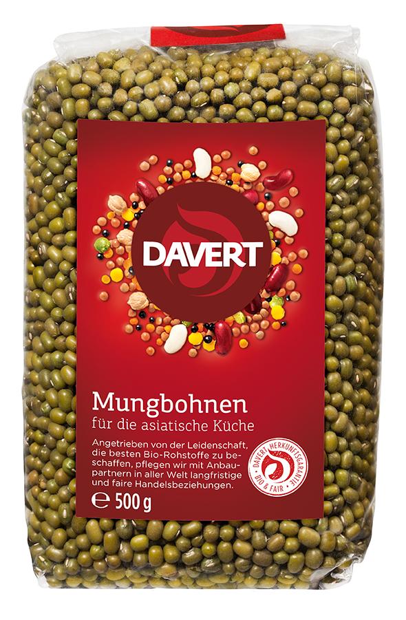 Mungbohnen BIO 500 g von DAVERT