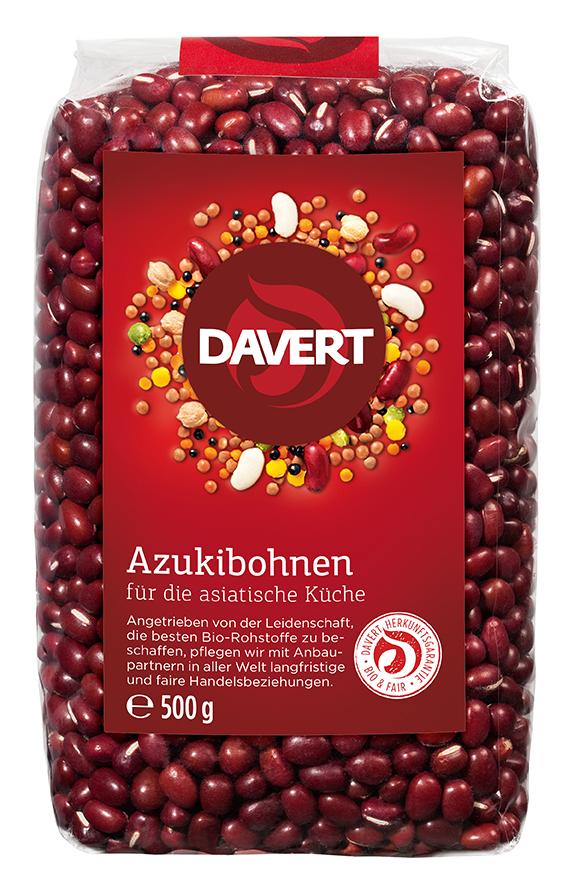 Azukibohnen 500 g von DAVERT