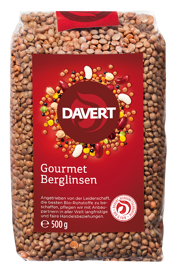 Berglinsen 500 g von DAVERT