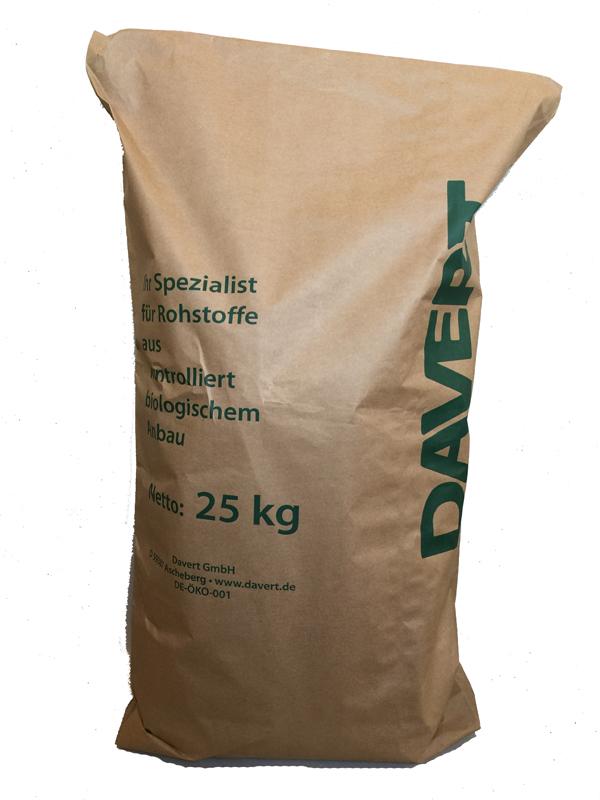 Weizenschrot, BIO Vollkorn, fein  25 kg  BIO DAVERT