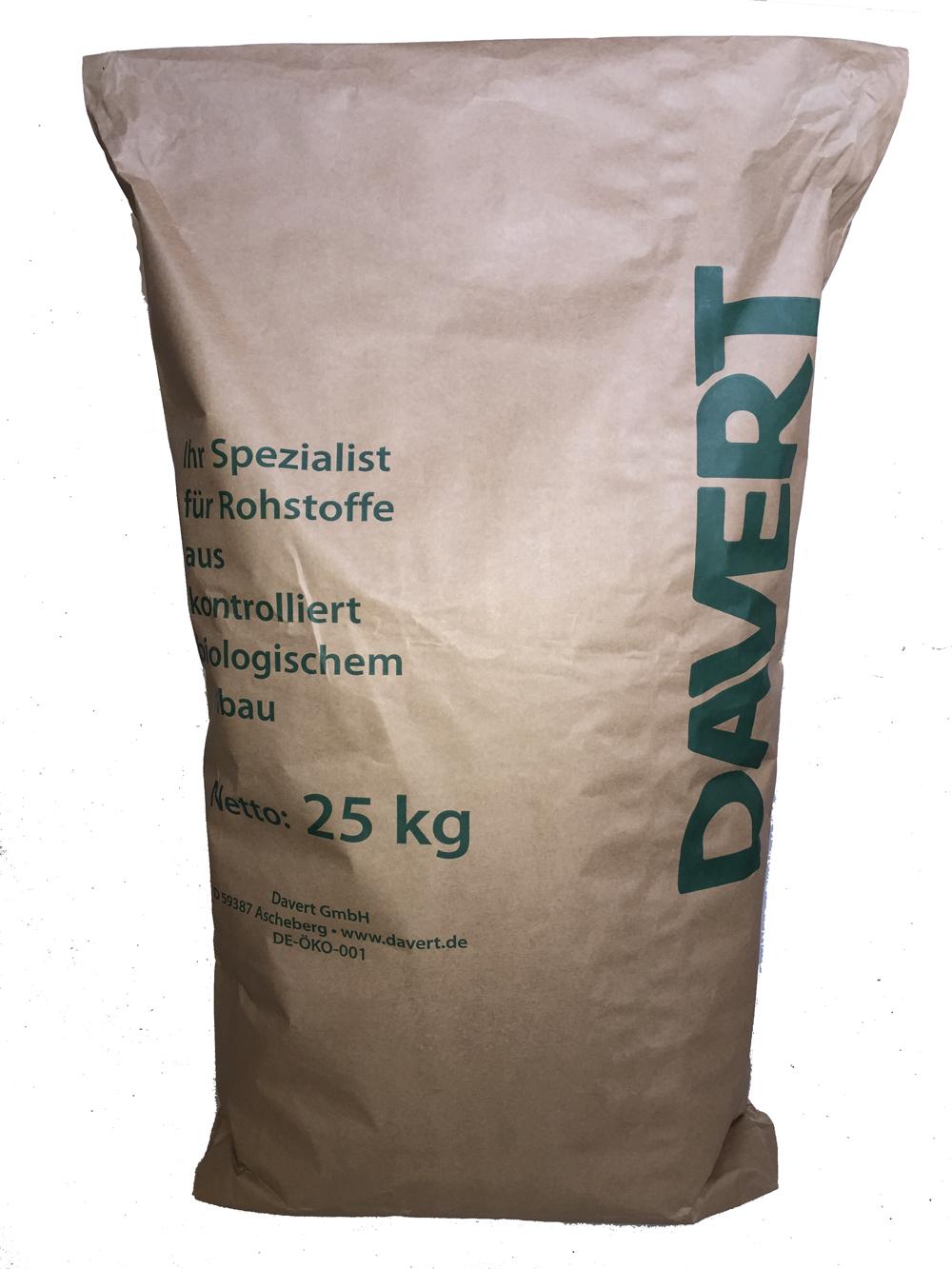 Nackthafer 25 kg, DAVERT