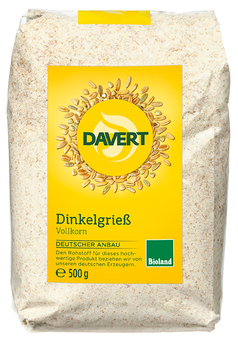Dinkelgrieß BIO 500 g  von DAVERT