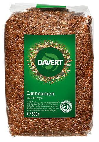 Leinsamen 500 g von DAVERT