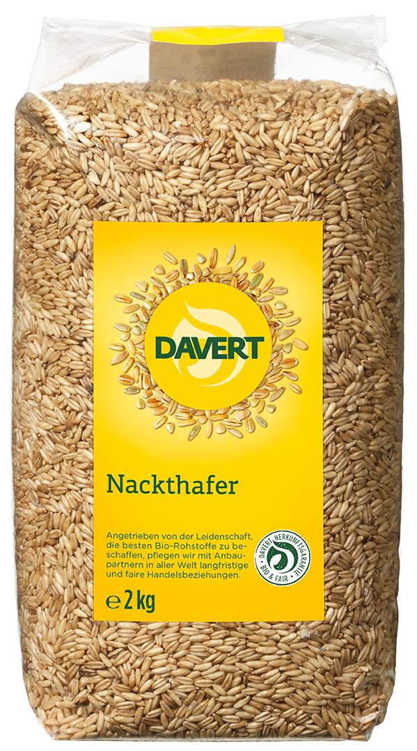 Nackthafer BIO 2,5 kg von DAVERT