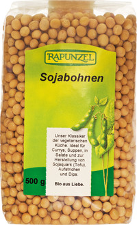 Sojabohnen 500 g BIO Rapunzel  ABCERT