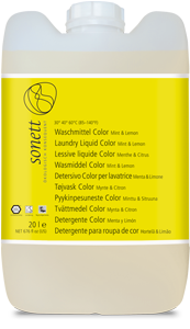 Sonett Waschmittel Color Mint & Lemon 20 ltr.