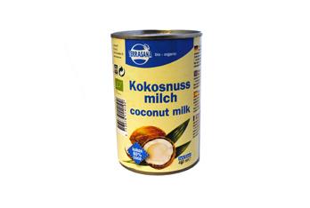Kokosmilch (22% Fett) 400ml TerraSana